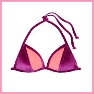 New Victoria's Secret Velvet Swim Top